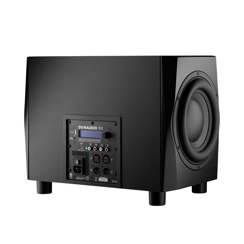 "Dynaudio 18S Active Dual 9.5""long throw subwoofer system"
