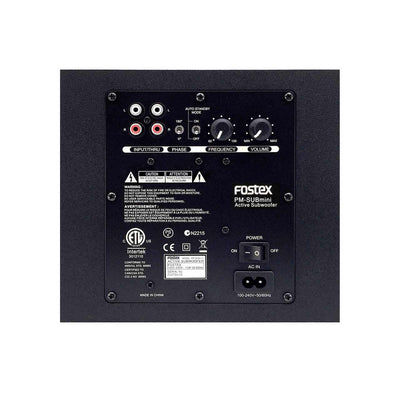 Subwoofers - Fostex PM-SUBmini2 Active Subwoofer