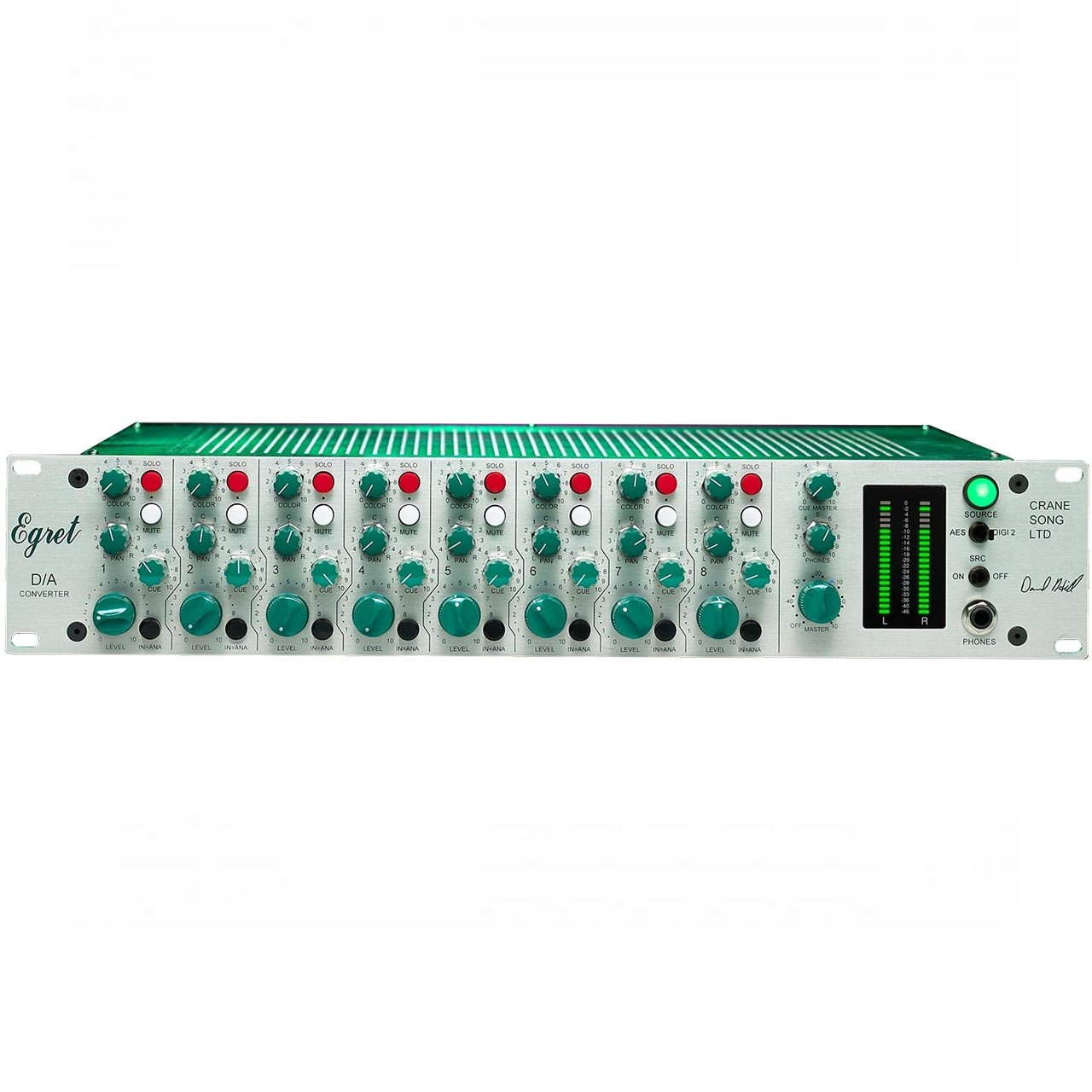 Summing Mixers - Crane Song Egret 8-Channel D/A Convertor And Summing Mixer