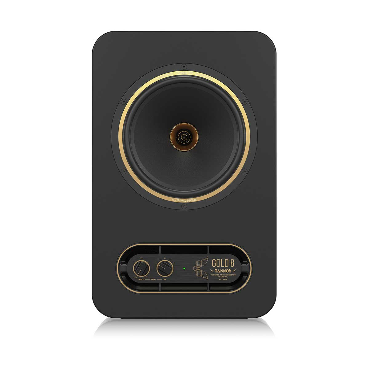"Tannoy Gold 8 Premium 300-Watt Bi-Amplified Near-field Studio Reference Monitor with Proprietary 8"" Dual Concentric Point Source Technology (SINGLE)"