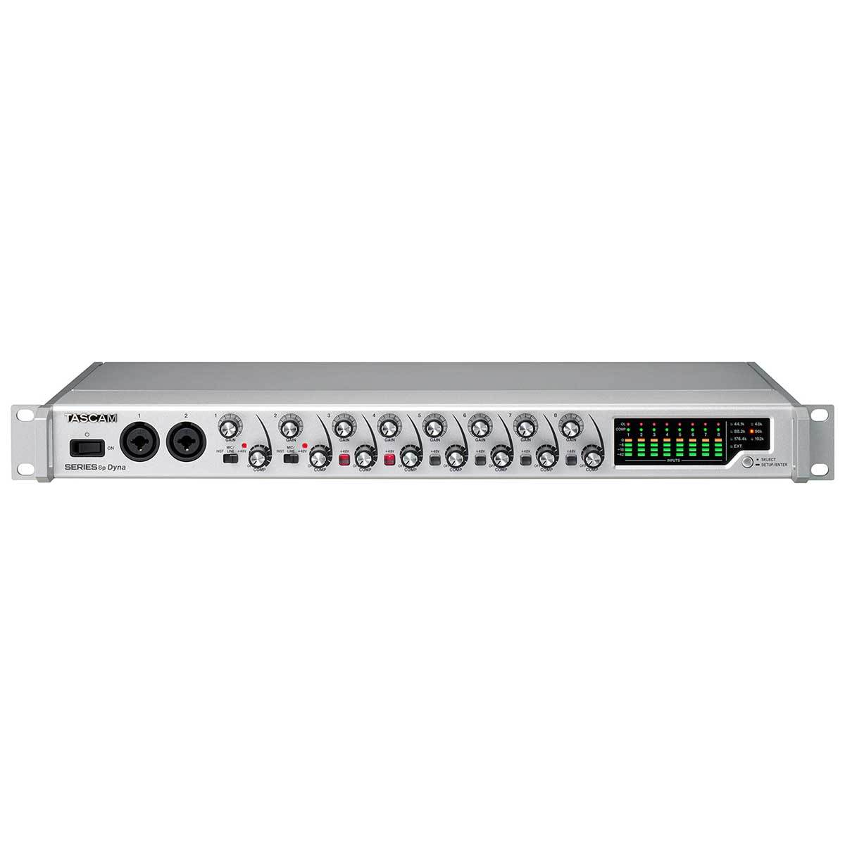 TASCAM Series 8p Dyna 8 channel mic preamplifier with analog compressor