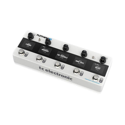 TC Electronic Plethora X5 Guitar Effects Pedal Board Right Angle