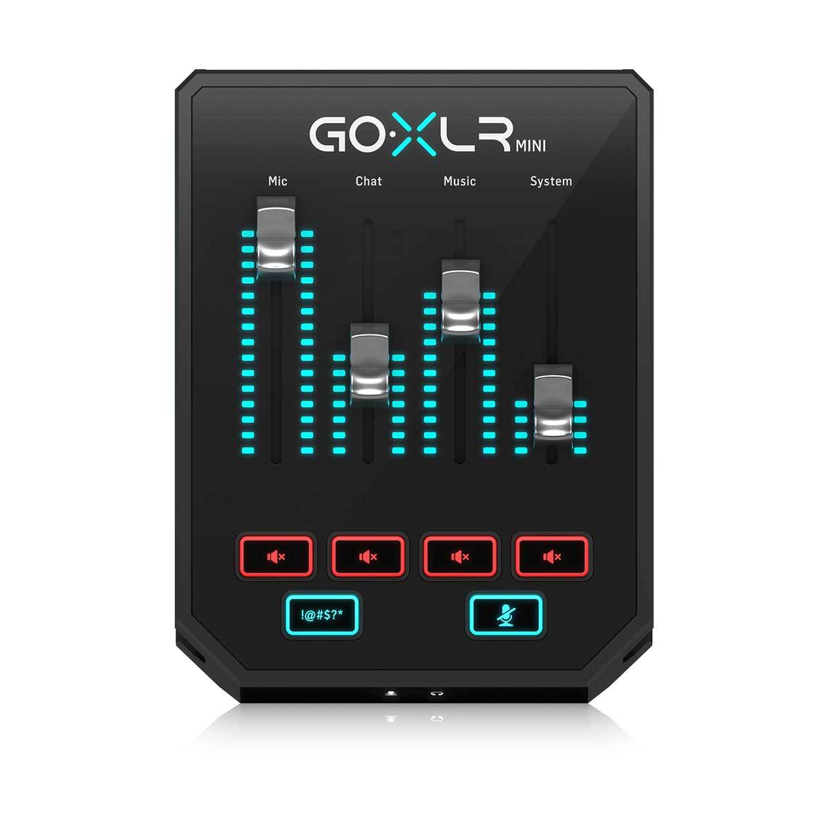 TC Helicon Go XLR Mini Top