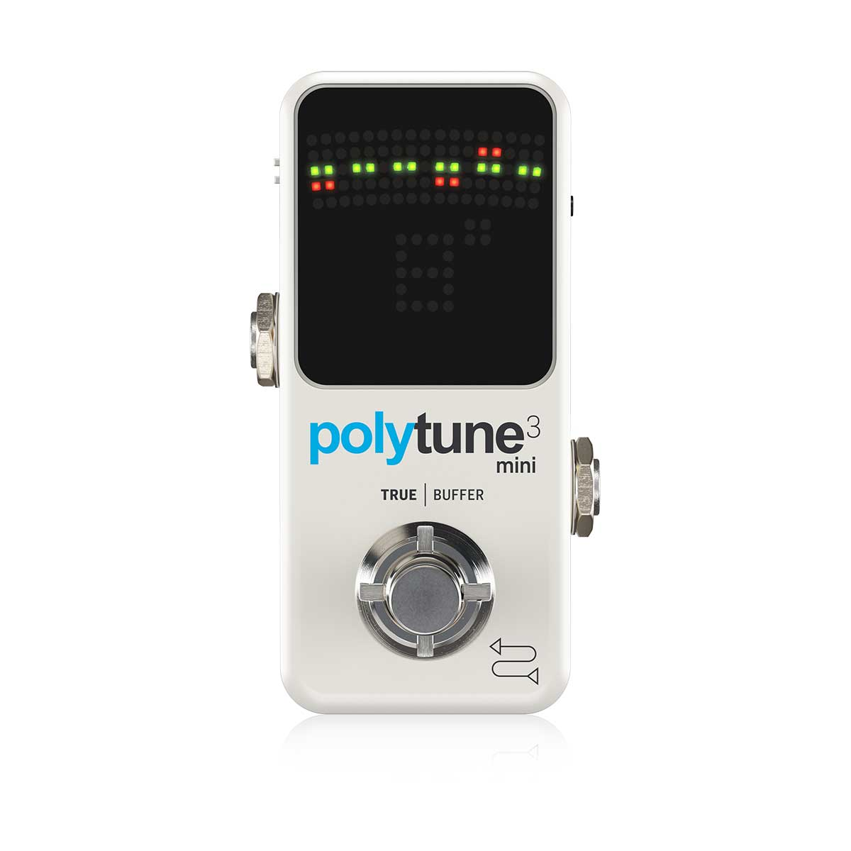TC Electronic Polytune 3 Mini Polyphonic Tuner Top