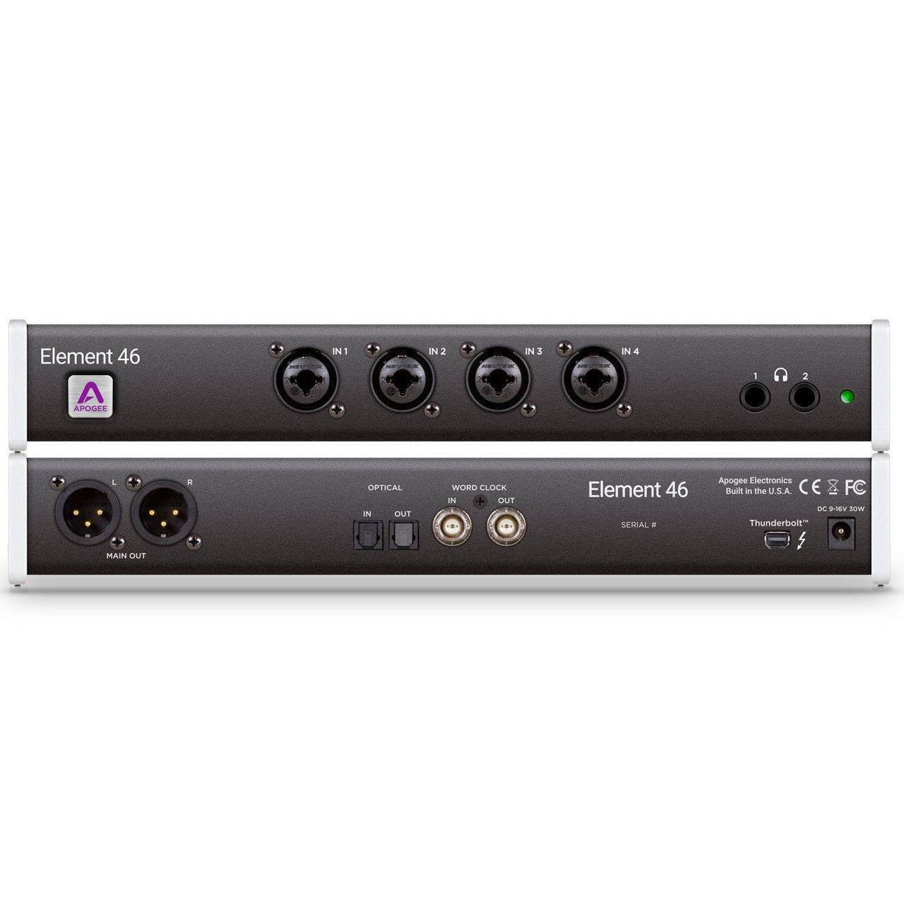 Thunderbolt Interfaces - Apogee Element 46 Thunderbolt Audio Interface