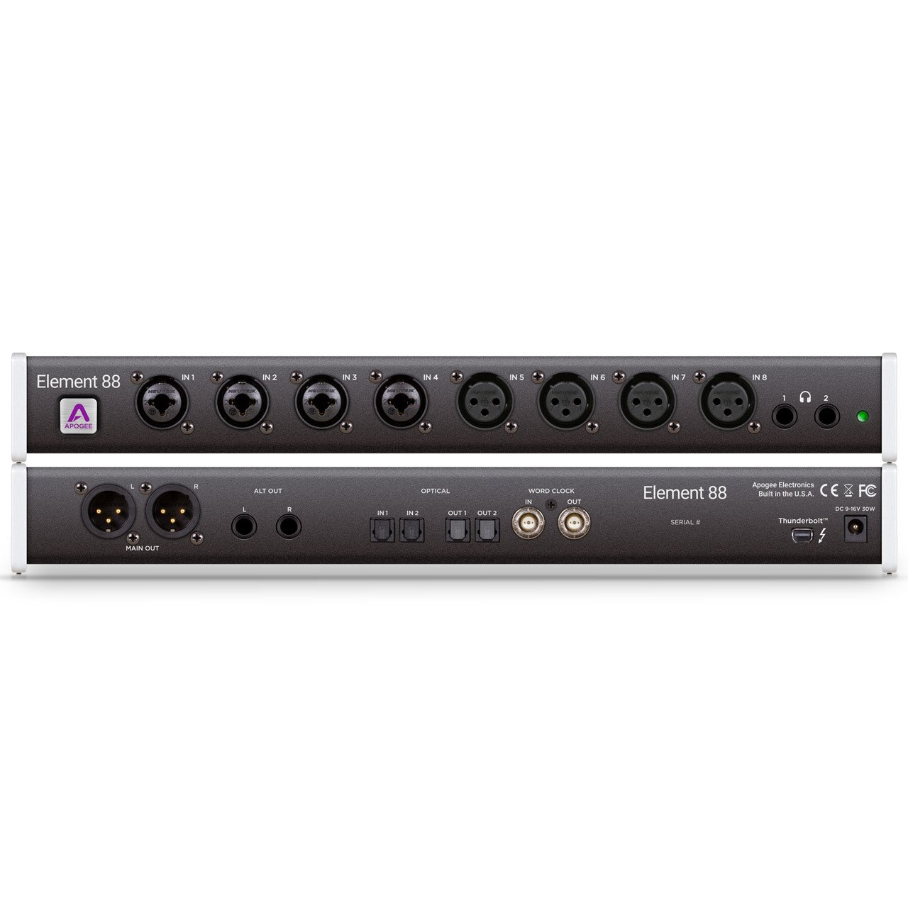 Thunderbolt Interfaces - Apogee Element 88 Thunderbolt Audio Interface