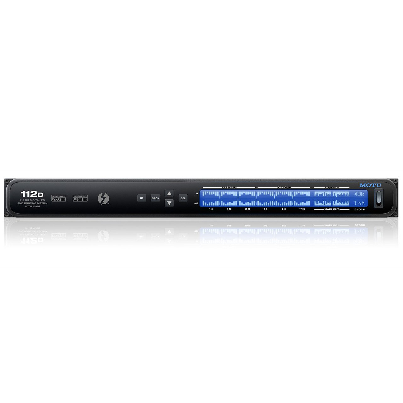 Thunderbolt Interfaces - MOTU 112D Thunderbolt / AVB Ethernet / USB Audio Interface