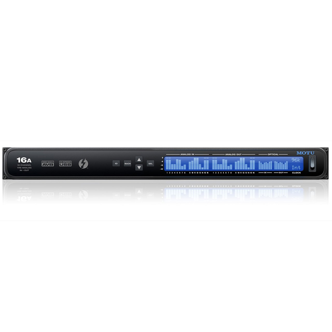 MOTU 16A Thunderbolt / AVB Ethernet / USB Audio Interface