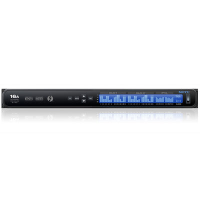 Thunderbolt Interfaces - MOTU 16A Thunderbolt / AVB Ethernet / USB Audio Interface