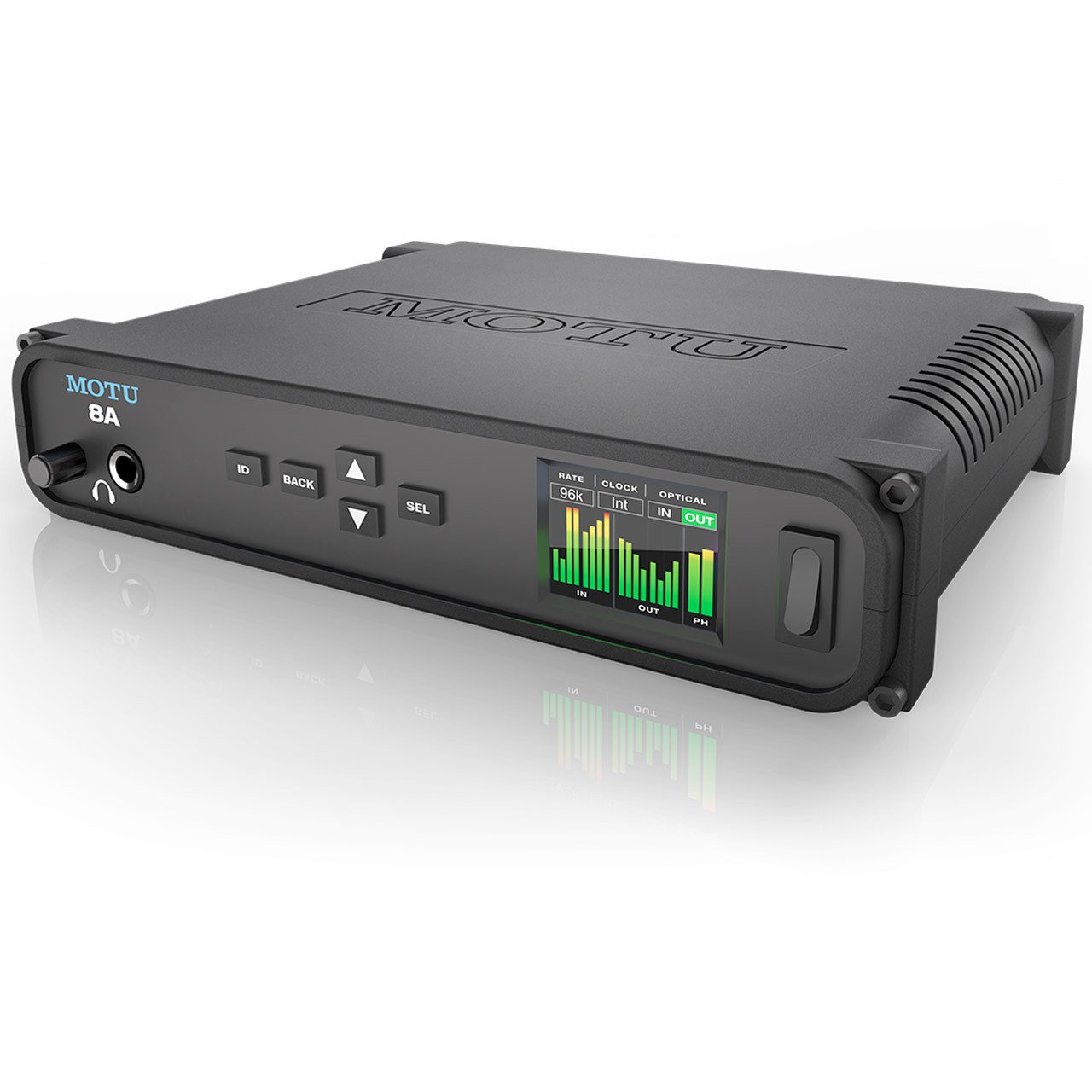 Thunderbolt Interfaces - MOTU 8A - AVB Thunderbolt/USB3 Audio Interface With ESS Sabre32 DAC