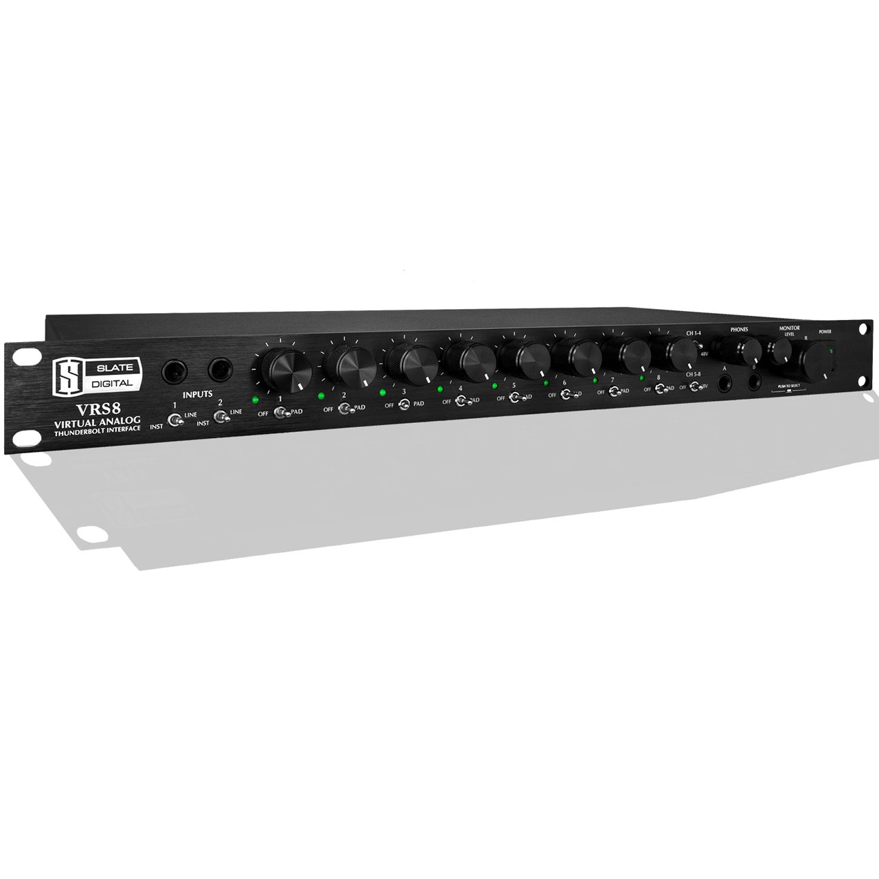 Thunderbolt Interfaces - Slate Digital VRS8 - Thunderbolt/PCIe Audio Interface W/ VMS-One Mic Preamps