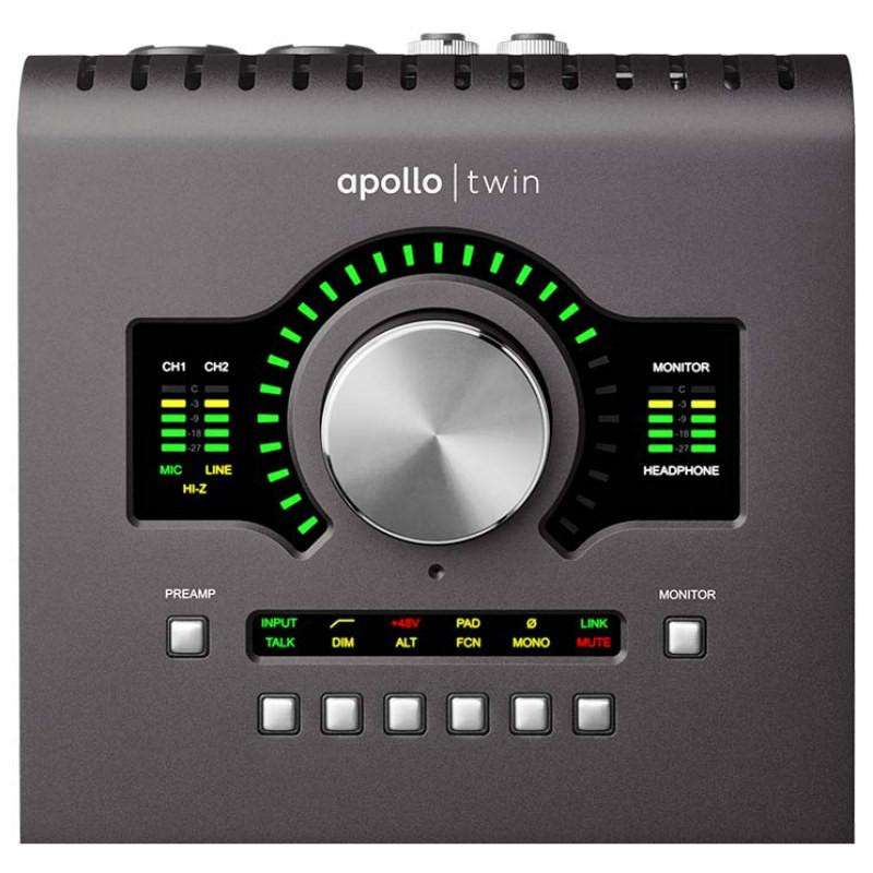 Thunderbolt Interfaces - Universal Audio Apollo Twin SOLO MKII Thunderbolt Audio Interface