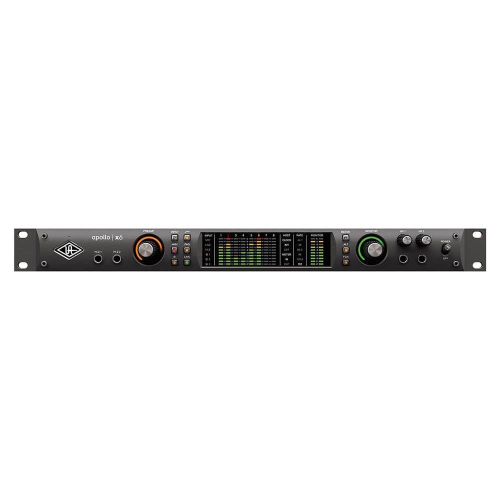 Thunderbolt Interfaces - Universal Audio Apollo X6 Thunderbolt 3 Audio Interface