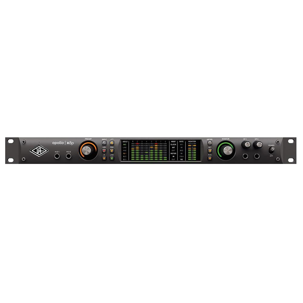 Thunderbolt Interfaces - Universal Audio Apollo X8p Thunderbolt 3 Audio Interface