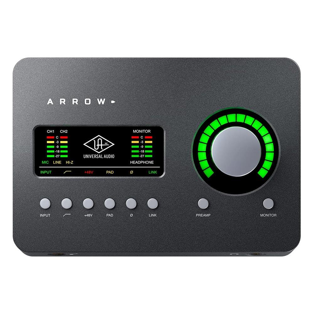 Thunderbolt Interfaces - Universal Audio Arrow Thunderbolt 3 Audio Interface