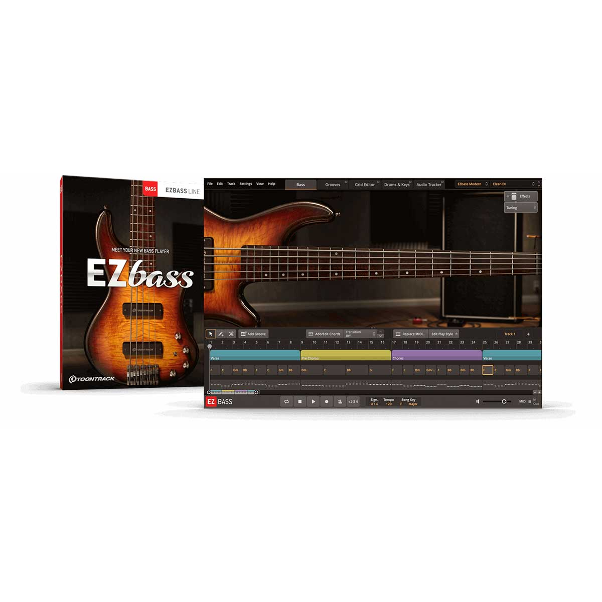 Toontrack EZBass Personal Bass Player Plug-In