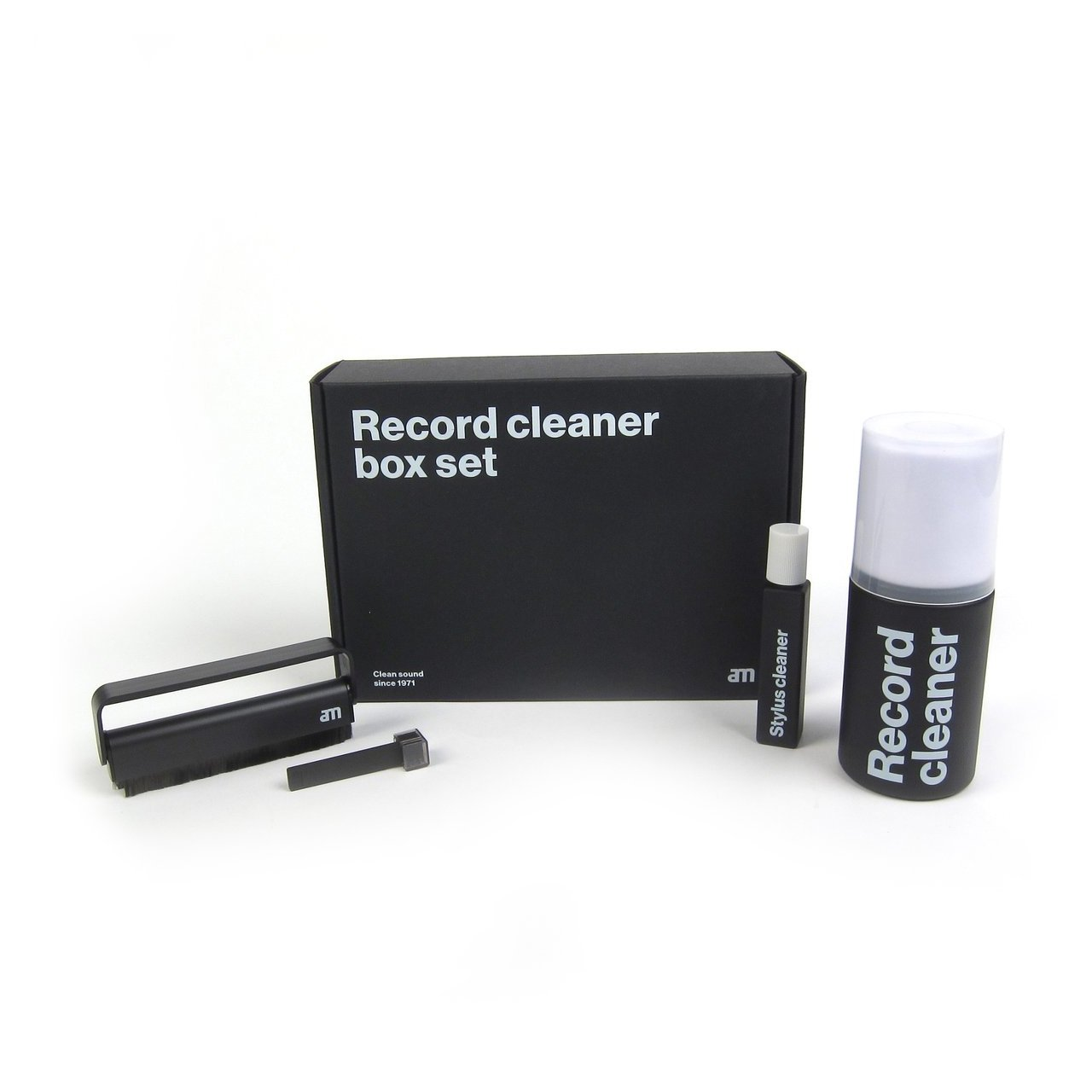 Turntable Accessories - AM Clean Sound - Record Cleaner Box Set
