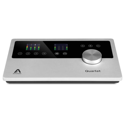USB Audio Interfaces - Apogee Quartet Professional Desktop USB Audio Interface For IPad & Mac