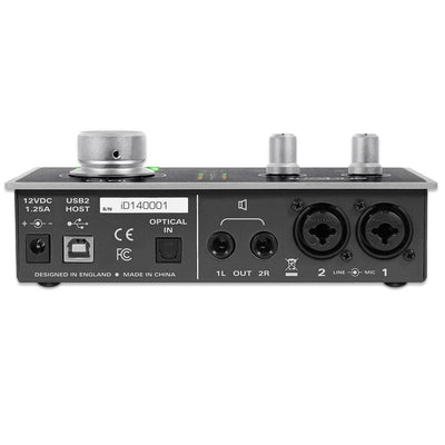 USB Audio Interfaces - Audient ID14 High Performance USB Audio Interface