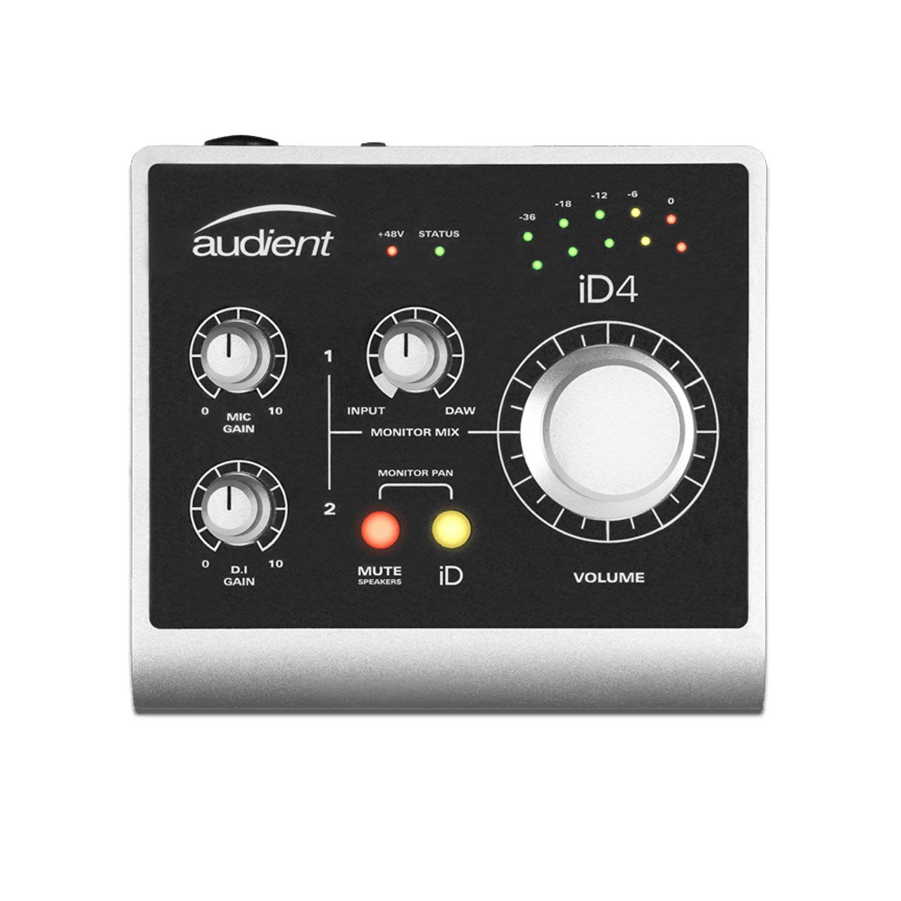 USB Audio Interfaces - Audient ID4 Compact High Performance USB Audio Interface