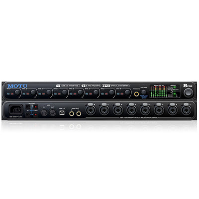 USB Audio Interfaces - MOTU 8Pre USB Audio Interface