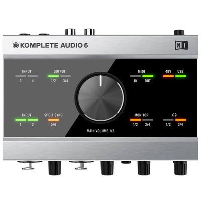 USB Audio Interfaces - Native Instruments Komplete Audio 6 USB Audio Interface