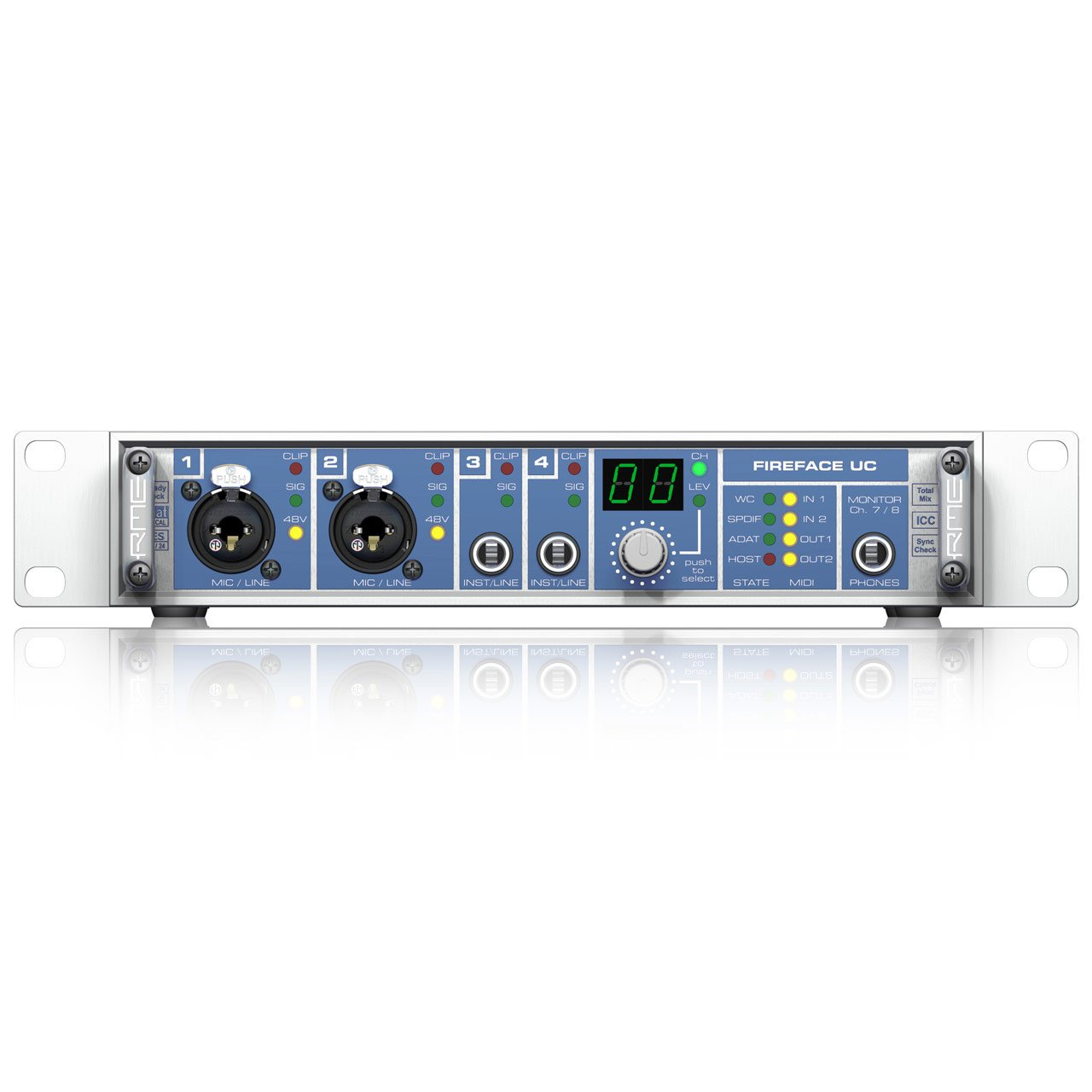 USB Audio Interfaces - RME Fireface UC 36-Channel 24-Bit/192kHz USB High Speed Audio Interface