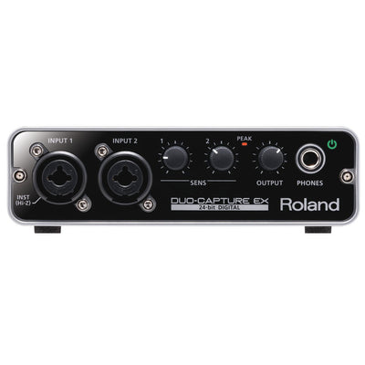 USB Audio Interfaces - Roland UA-22 DUO-CAPTURE EX USB Audio Interface