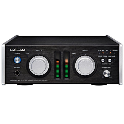 USB Audio Interfaces - Tascam UH-7000 HDIA Mic Preamp/Audio Interface With DSP Mixer