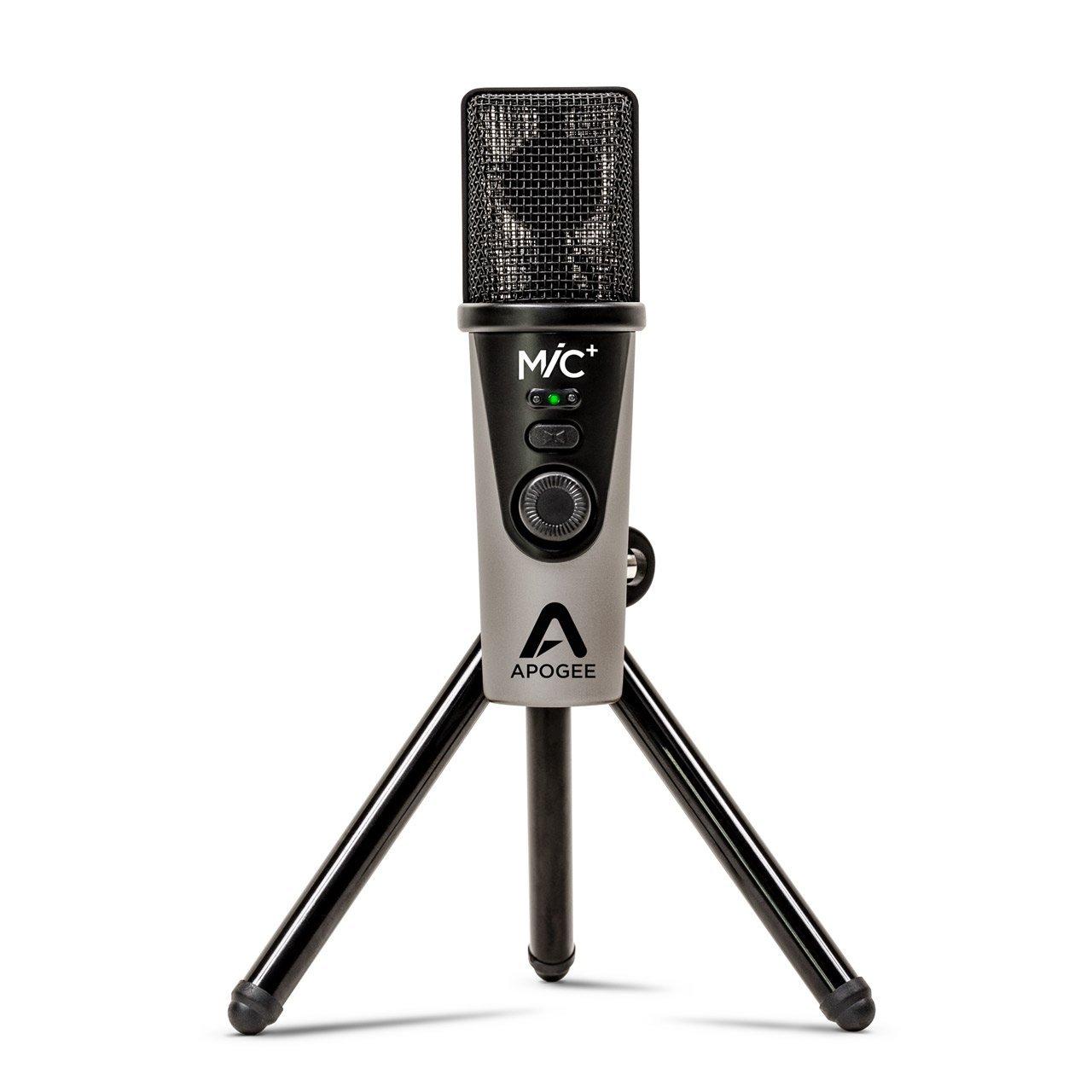 USB Microphones - Apogee MiC+ Cardioid Condenser USB Microphone For Mac/Windows/iOS