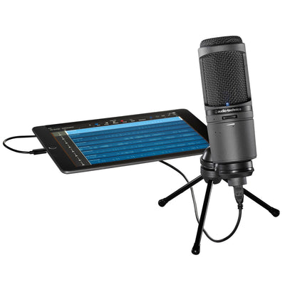 USB Microphones - Audio-Technica AT2020USBi Cardioid Condenser USB Microphone