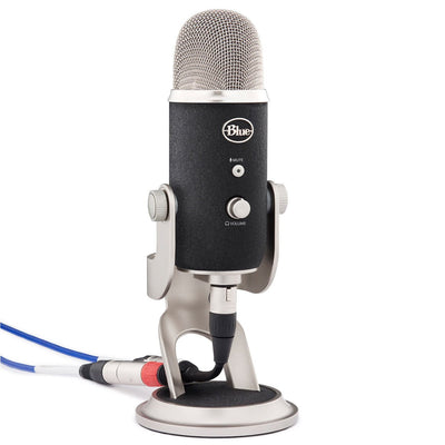 USB Microphones - Blue Microphones Yeti Pro USB And XLR Condenser Mic