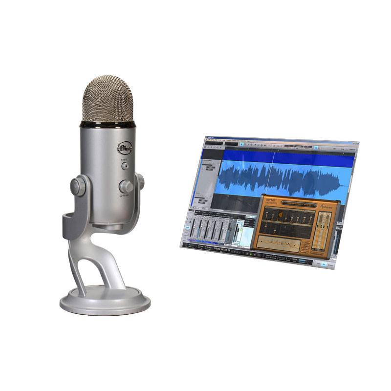 USB Microphones - Blue Microphones Yeti Studio All-In-One Recording System For Vocals