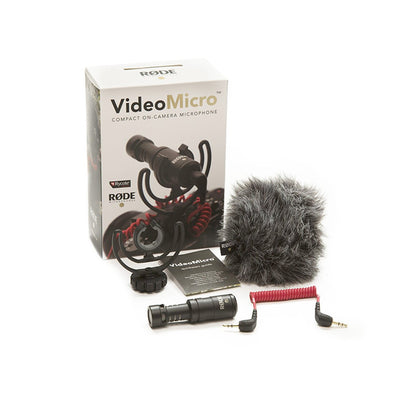 Video Microphones - RODE VideoMicro Compact On-Camera Microphone