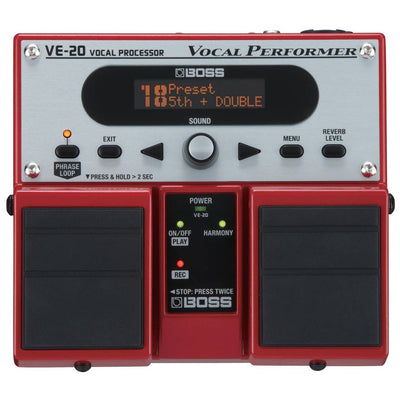 Vocal Effects - BOSS VE-20 Vocal Performer Effect Pedal