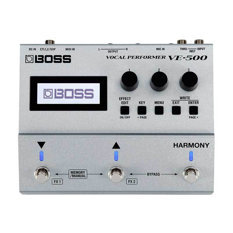 BOSS VE-500 Vocal Performer Vocal Effects Processor