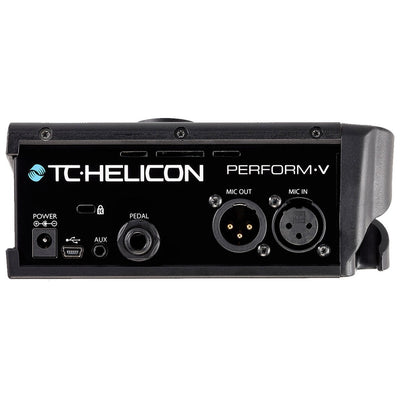 Vocal Effects - TC Helicon Perform-V Vocal Effects Processor