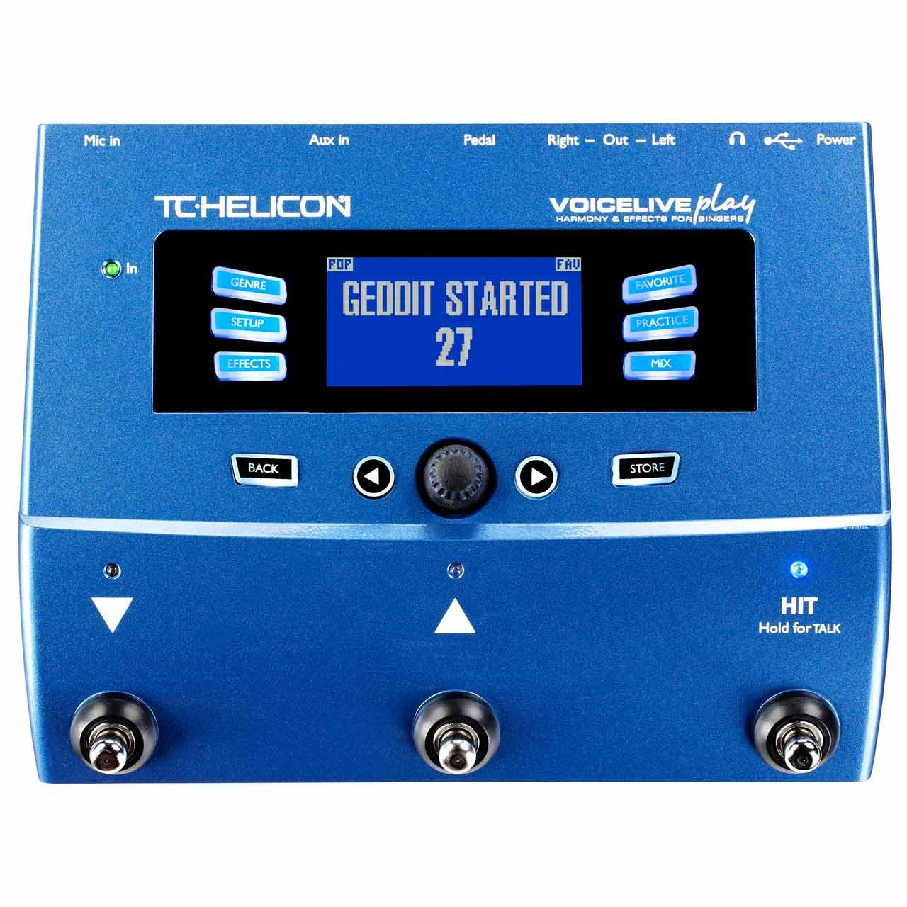 Vocal Effects - TC Helicon VoiceLive Play Vocal FX Processor