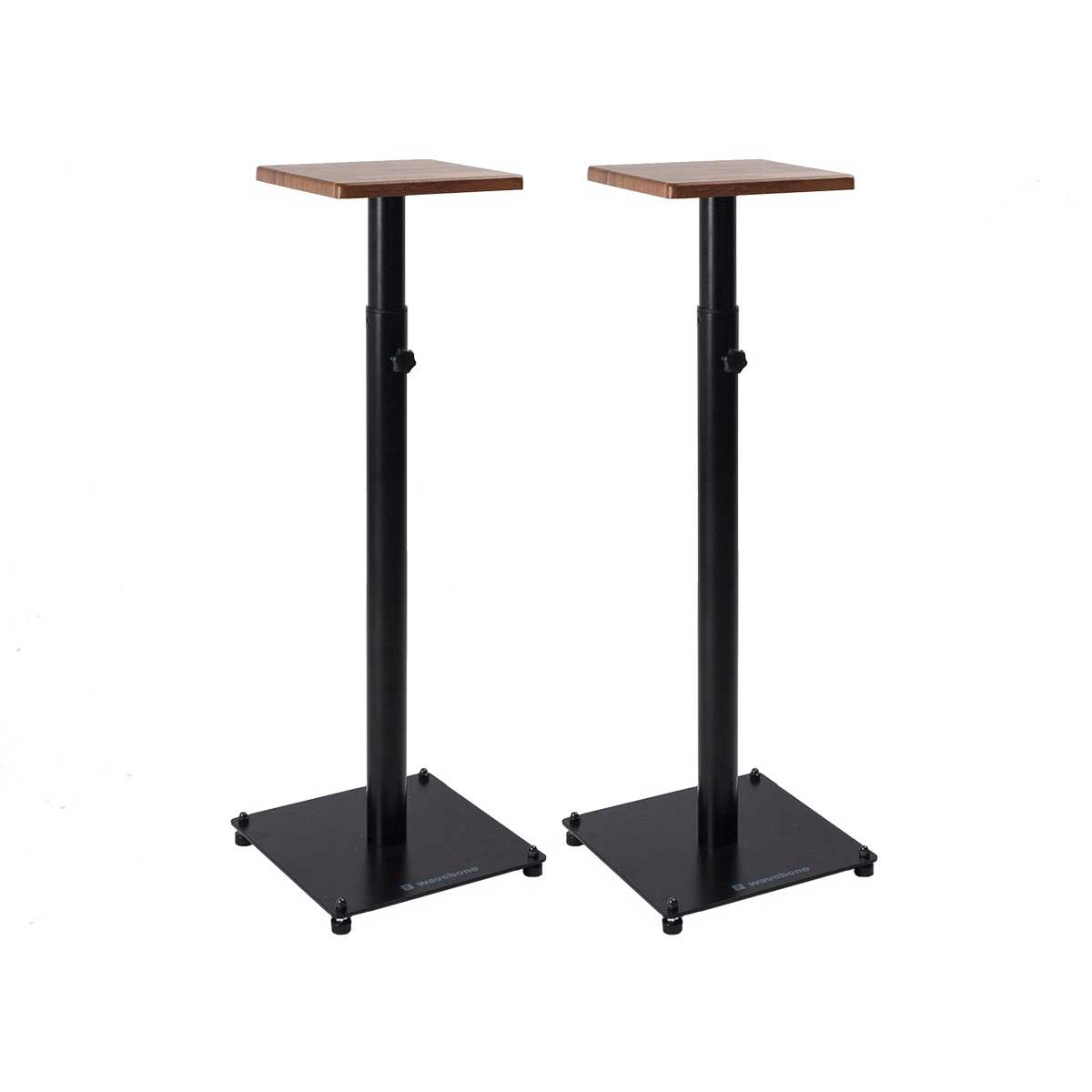 Wavebone Grand Gemini Height Adjustable Speaker Stands (PAIR)