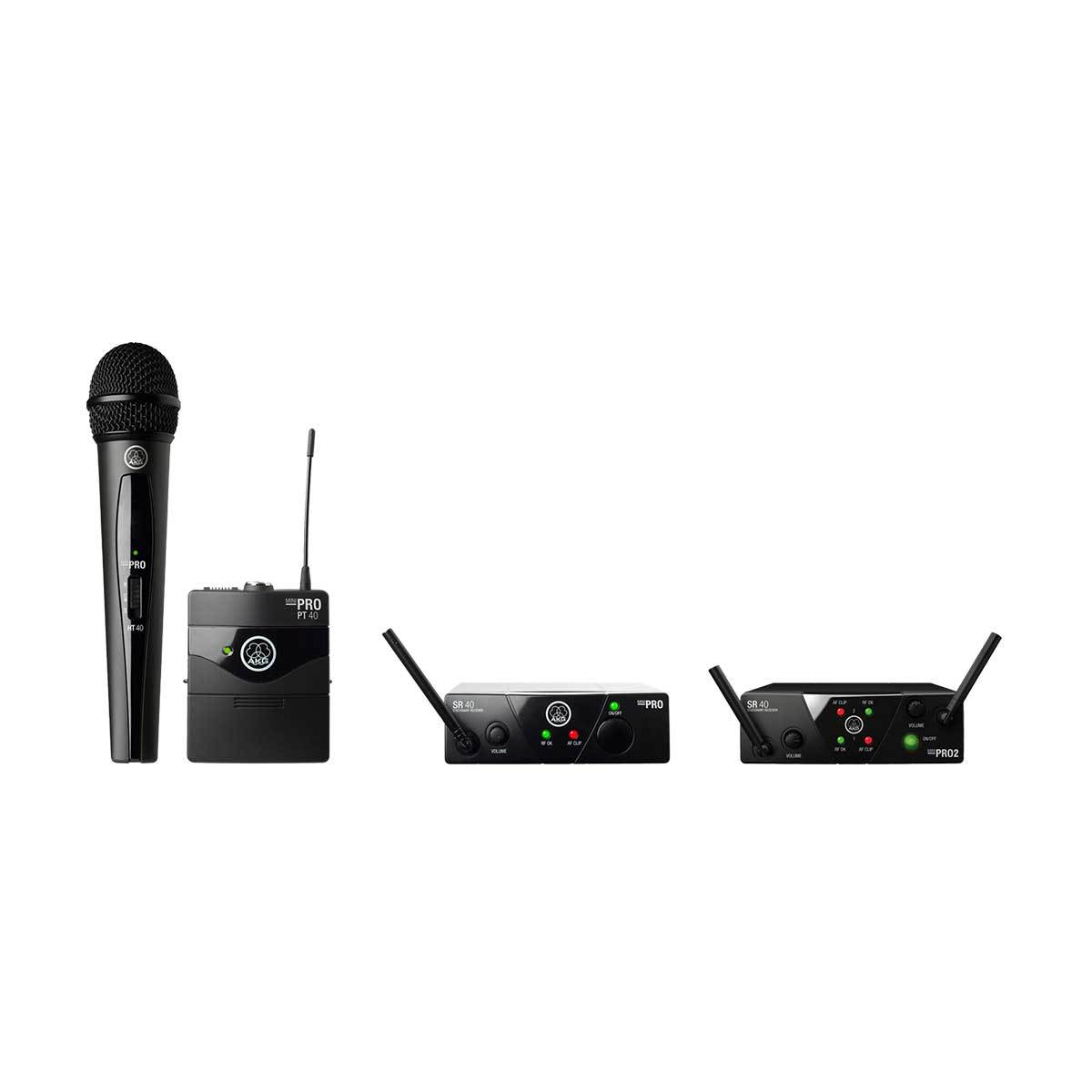 Wireless Systems - AKG WMS40 Mini Dual Wireless System