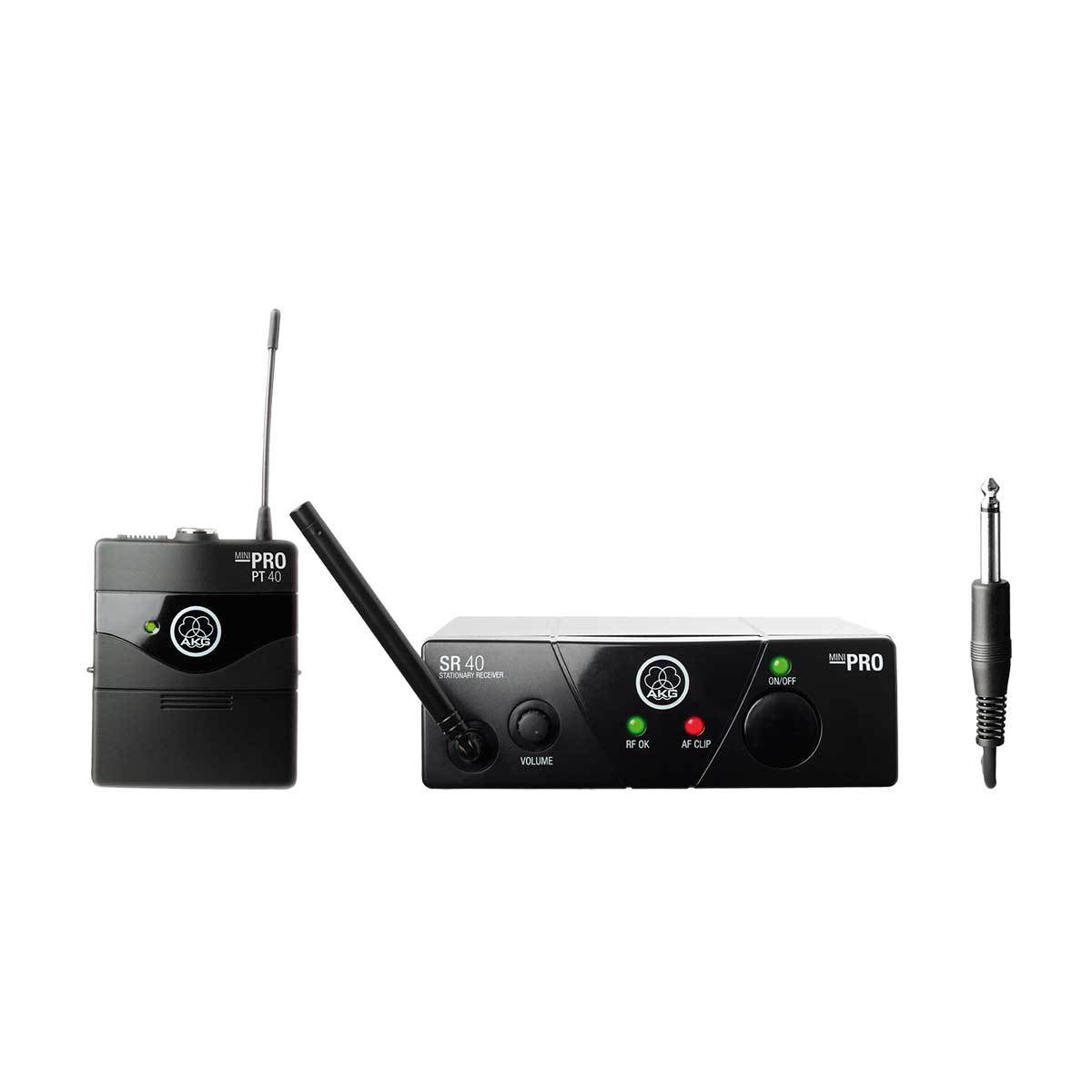 AKG WMS40 Mini Wireless Instrument System with Single Pocket Transmitter