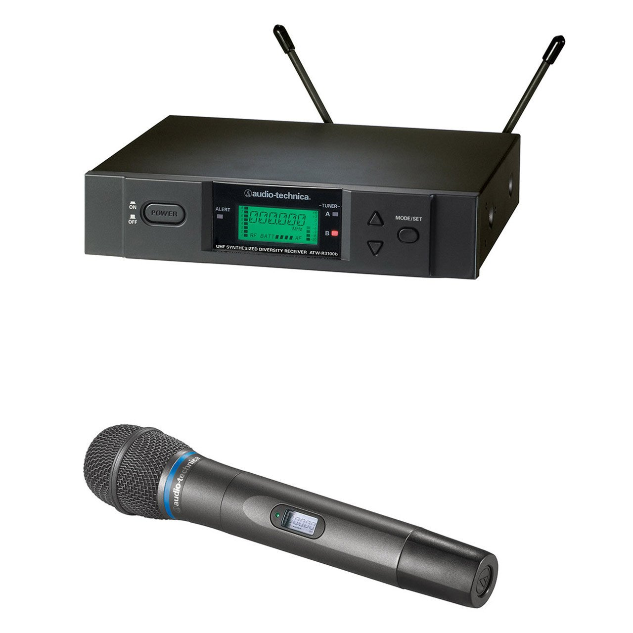 Wireless Systems - Audio-Technica ATW-3000HH-C - 3000 Series Receiver And Handheld Condensor Mic.