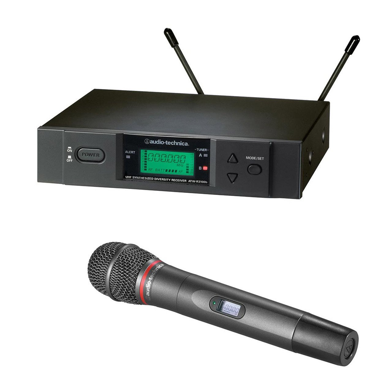 Wireless Systems - Audio-Technica ATW-3000HH-D - 3000 Series Receiver And Dynamic Handheld Mic.