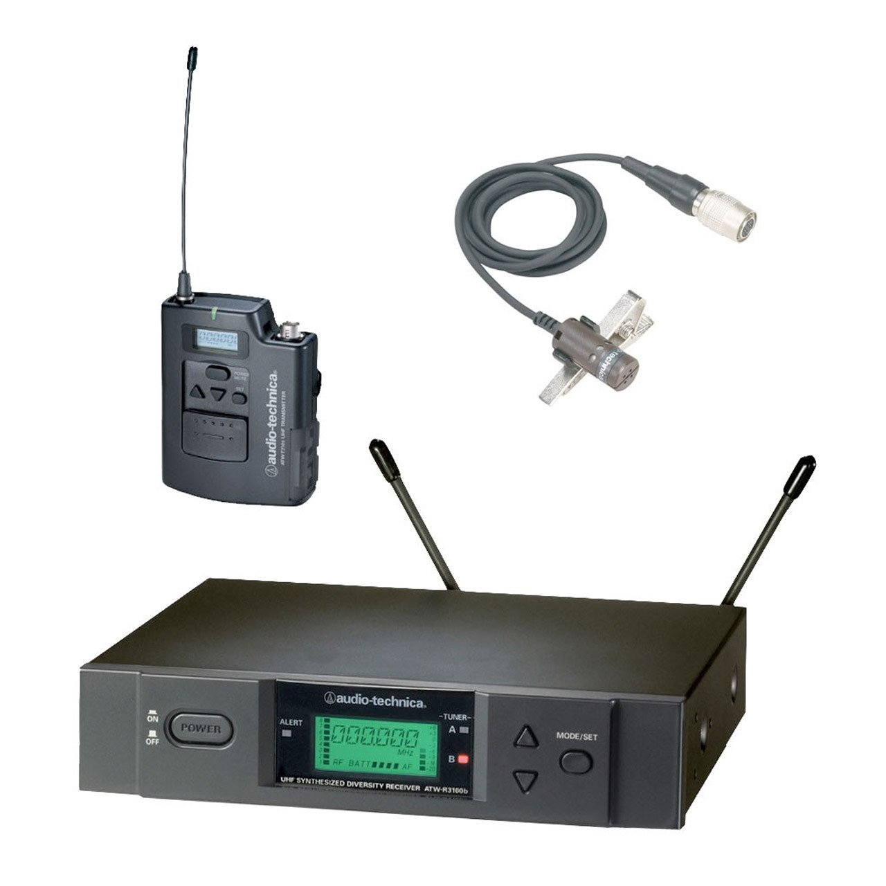 Wireless Systems - Audio-Technica ATW-3000L - 3000 Series Wireless Lapel Bundle