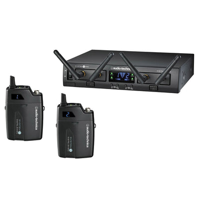 Wireless Systems - Audio-Technica System 10 PRO - ATW1311 Rack-Mount Digital Wireless Dual Body-Pack System