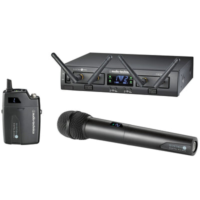 Wireless Systems - Audio-Technica System 10 PRO - ATW1312 Rack-Mount Digital Wireless Body-Pack / Handheld System