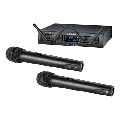 Wireless Systems - Audio-Technica System 10 PRO - ATW1322 Rack-Mount Digital Wireless Dual Handheld System