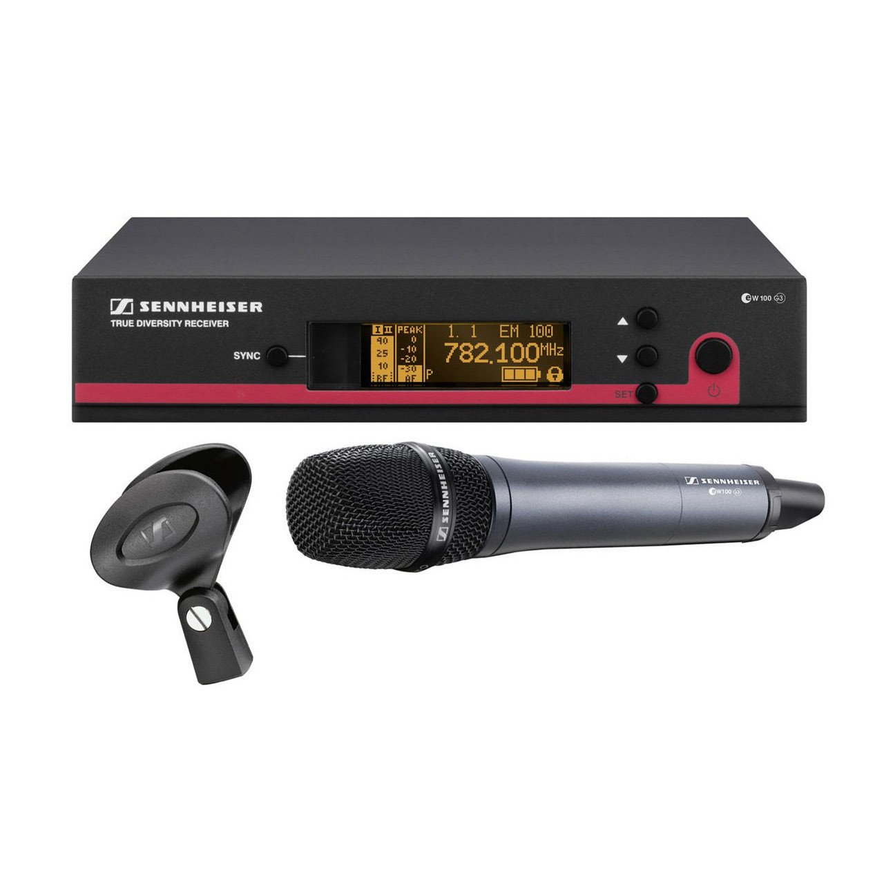 Wireless Systems - Sennheiser EW 145 G3 - Wireless Vocal Microphone Set