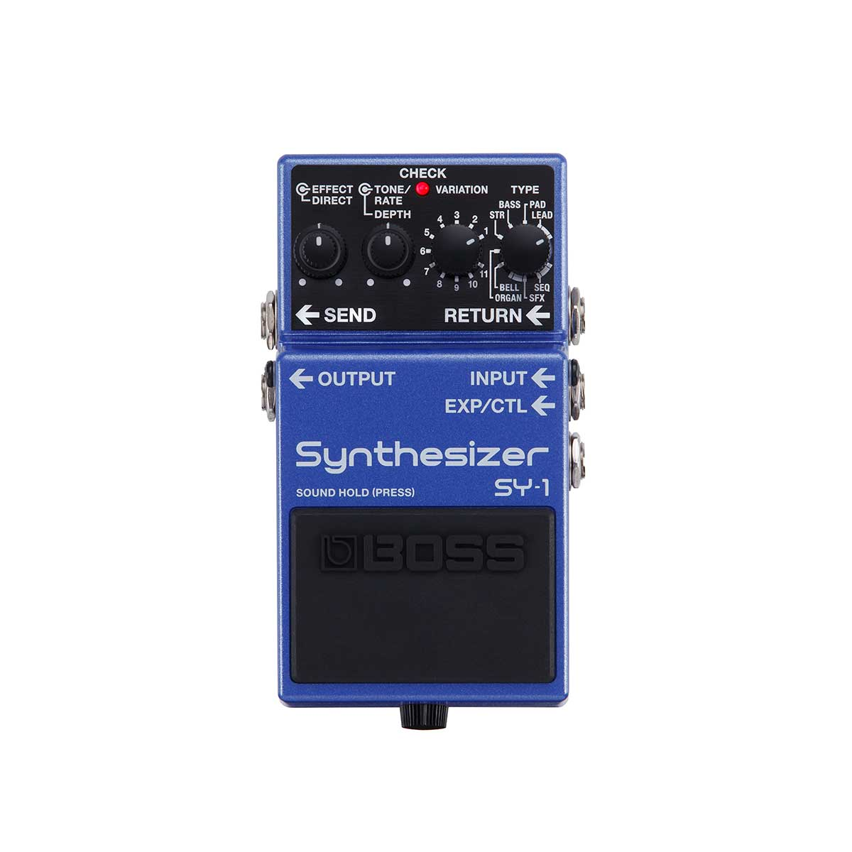 BOSS SY-1 Synthesizer Pedal Top