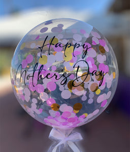 Mother's Day Confetti Balloon